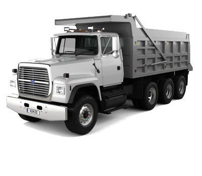 Sterling Dump Truck excavation